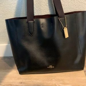 Coach Leather Derby Tote